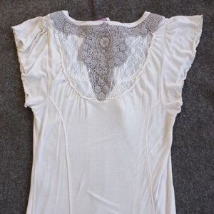 Free People Lacy Tunic Top